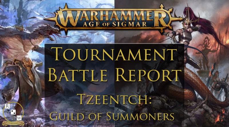 Tzeentch tournament battle report