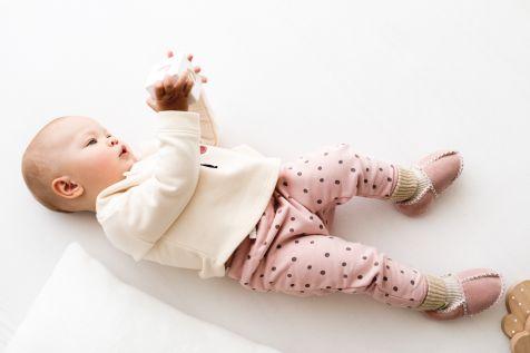 Rolly baby winter roza copatki