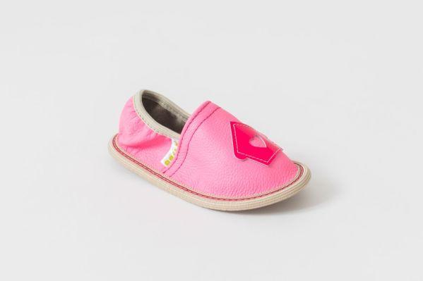 Rolly copati toddler girl za vrtec roza malčki deklice ptiček hišica