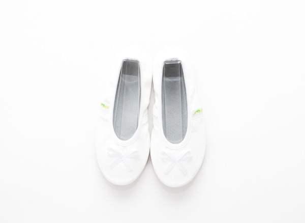 Šolski copati ballerina white rolly bele balerinke