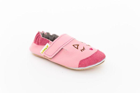 Rolly copatki malcki mini kitten pink iz usnja
