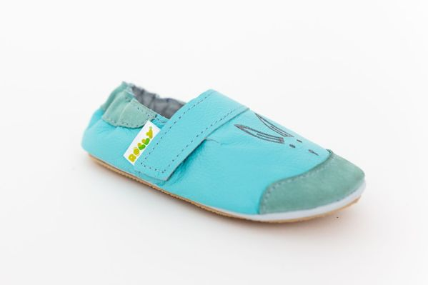 Rolly slippers toddler mini bunny sky blue