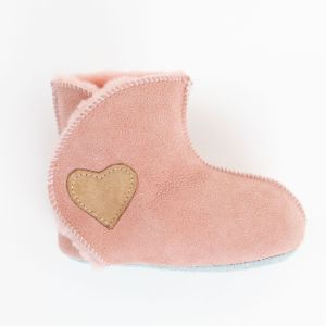 Rolly kindergarten slippers baby winter boots pink for babies