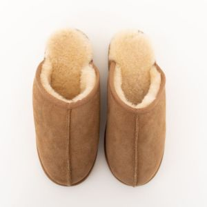 Rolly adult slippers cozy home slippers chestnut