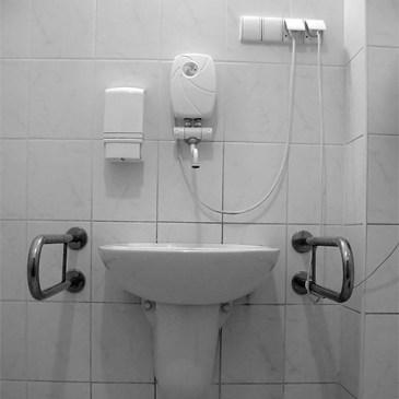 Badkamer voor mensen met beperking