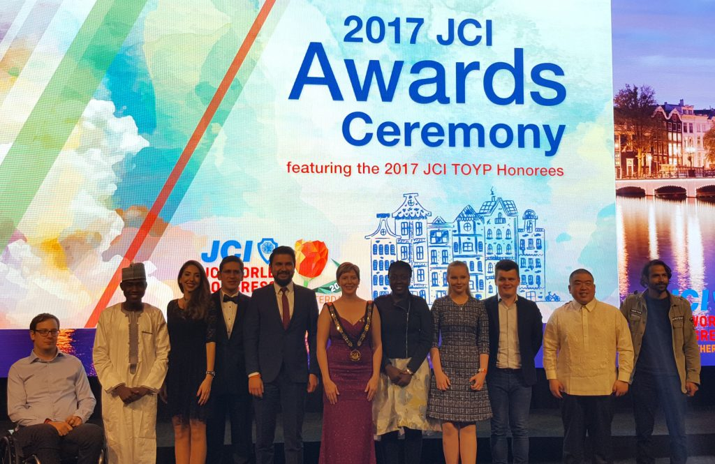 De 2017 Ten Outstanding Young Persons of the World