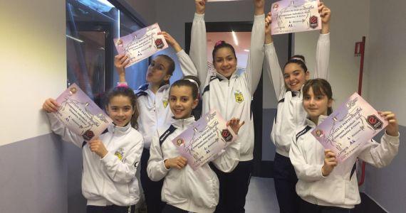 Foto di gruppo gare silver roma 70 fgi