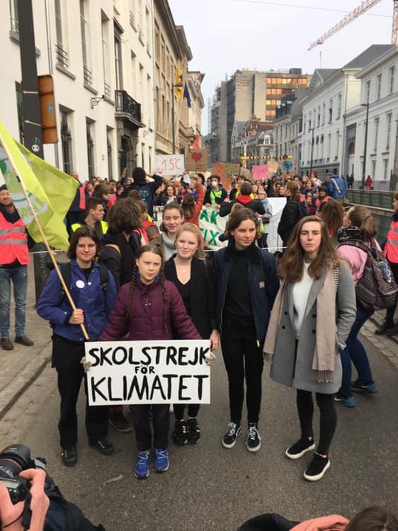 Gli studenti romani in marcia con Greta per il futuro del Pianeta