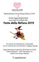FESTA DELLA BEFANA 2019. A ROMA LA BEFANA SOLIDALE DI SALVAMAMME