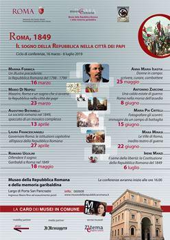 locandina Roma 1849