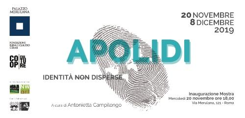 """Eugenia Serafini espone ad """"Apolidi: identità (non) disperse"""" a cura di Antonietta Campilongo"""