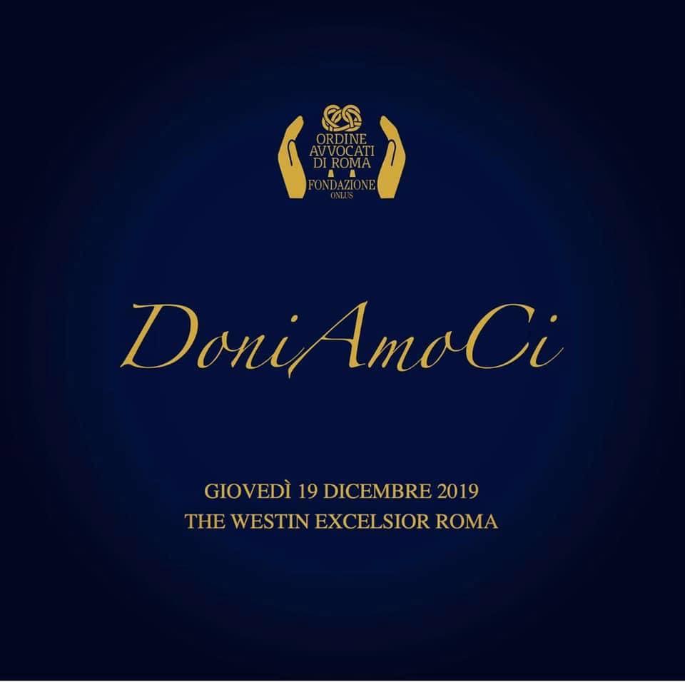 Evento di gala organizzato dalla Fondazione Avvocati di Roma-Onlus