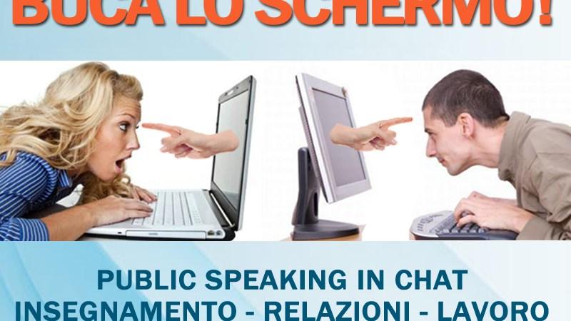 Web Cam Public Speaking. Come bucare lo schermo durante le video chiamate