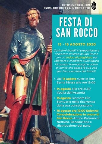 Nettuno: le celebrazioni di San Rocco