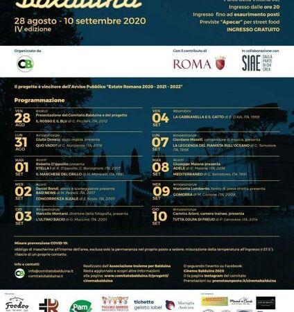 Roma, Cinema Balduina alla quarta edizione