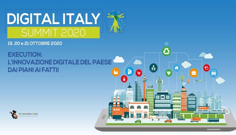 Digital Italy Summit 2020: I Leader del Digitale a Convegno per accelerare i percorsi di Innovazione Digitale del Paese