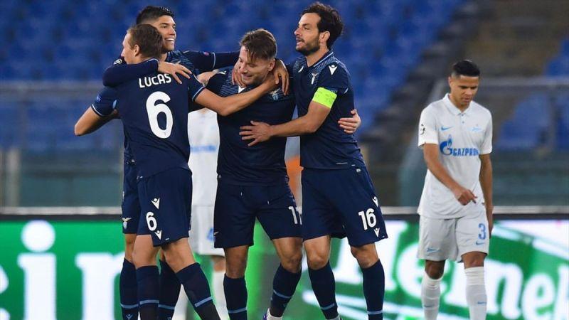 Lazio – Zenit 3-1 : Nella notte di Champions una Lazio bella e convincente supera i russi.