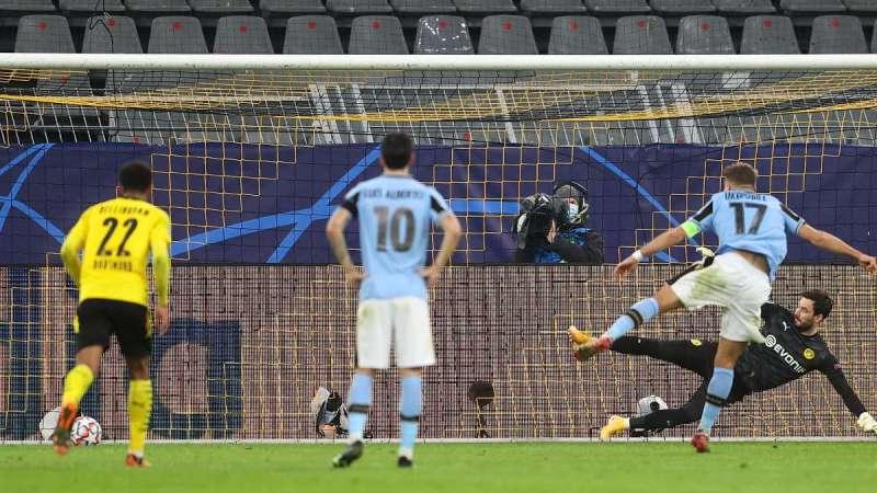 Borussia Dortmund -Lazio 1-1. Riscatto Lazio in Champions dopo la pessima prova in campionato.
