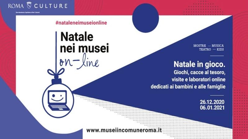 Musei in Comune e attività in modalità online con Natale nei Musei  fino al 6 gennaio 2021