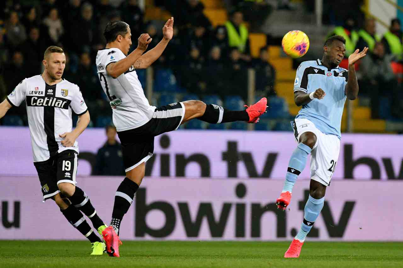 Parma – Lazio 0-2. Vittoria con merito nella settimana del Derby cittadino.