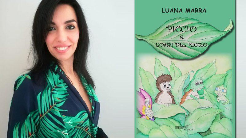 """Luana Marra """"Piccio e l'oasi del riccio""""."""