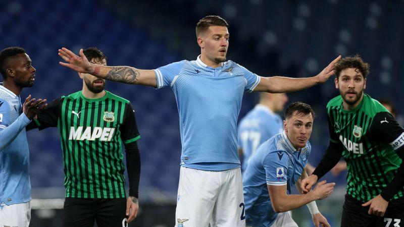 Lazio – Sassuolo 2-1. Vittoria in rimonta contro i neroverdi del Sassuolo