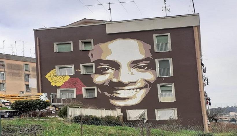 Colleferro: da Regione Lazio e As Roma un murale per ricordare Willy Montero