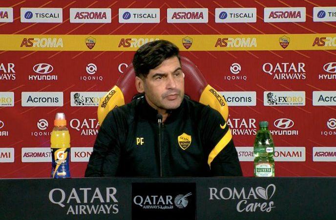 Roma – Udinese: la conferenza stampa di Paulo Fonseca