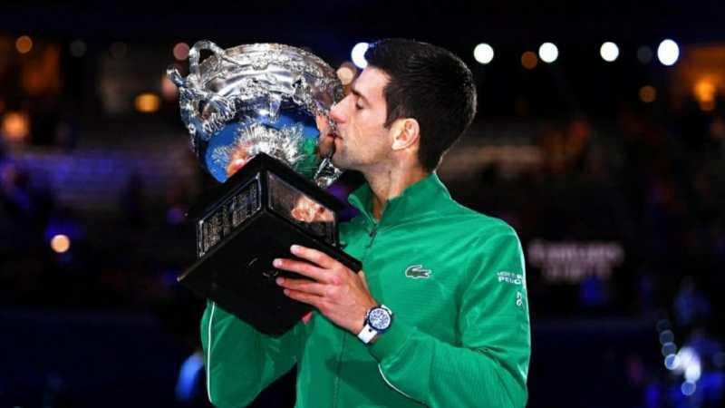 "Tennis Australian Open: La ""nona"" di  DJOKOVIC"