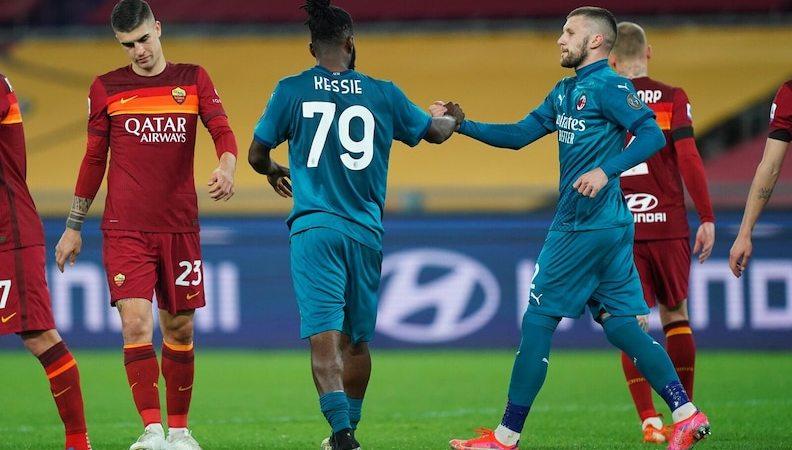 Roma 1-2 Milan: i giallorossi non sfatano il tabù con le grandi e scivolano all'Olimpico