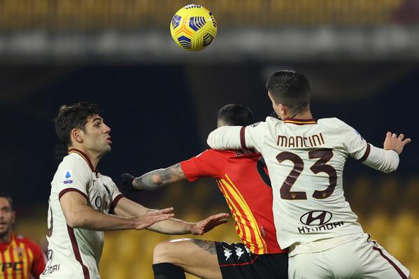 Benevento 0-0 Roma: termina a reti bianche il match contro i campani