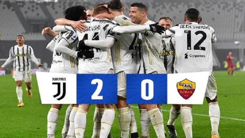 Serie A: Juve cinica, 6/o centro di fila con la Roma