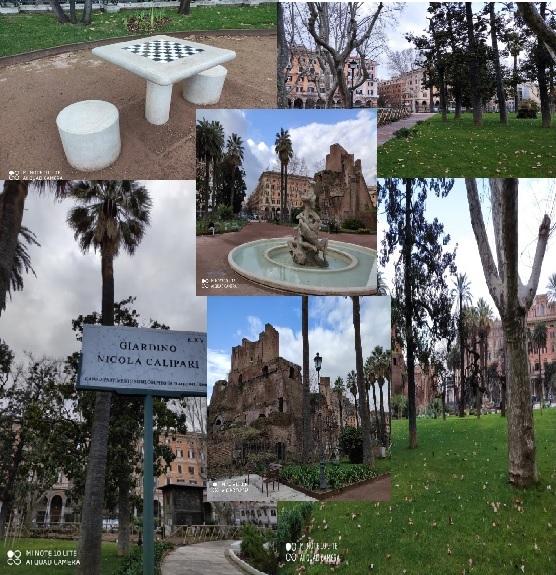 """Roma: """"Giardino Nicola Calipari"""", una nuova vita."""