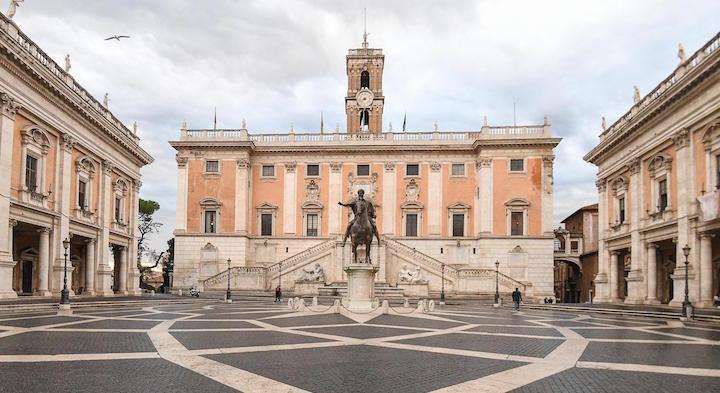 Elezioni Comune Roma, confronto tra Raggi, Calenda, Michetti e Gualtieri
