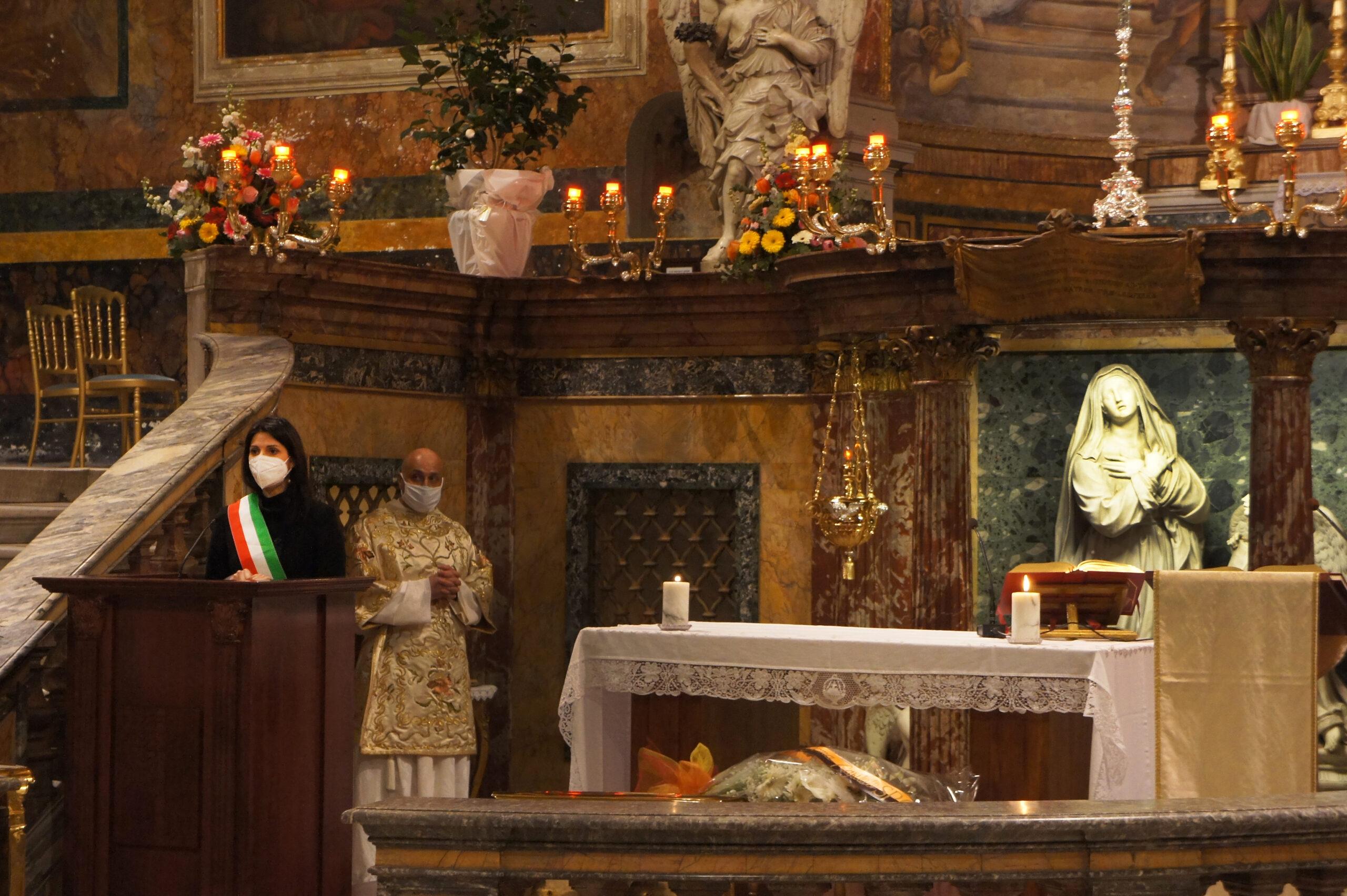 Festa di Santa Francesca Romana: le parole di speranza della Sindaca Virginia Raggi