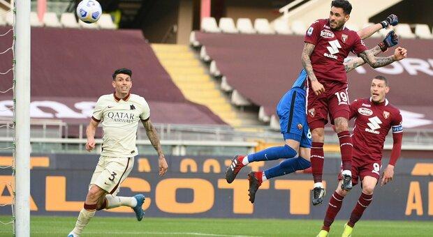 Torino 3-1 Roma: i granata ribaltano il risultato nel secondo tempo