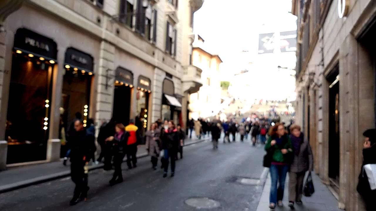 Roma: Via del Corso  tra le principali strada commerciali d'Europa che pagano le maggiori conseguenze della pandemia