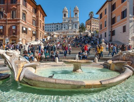 The Spanish Steps Rome .4