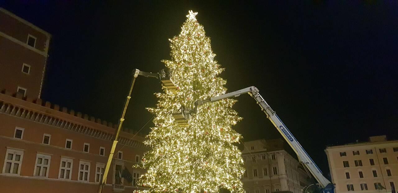 753 immagini gratis di palline di natale. Le Prime Immagini Dell Albero Di Natale A Piazza Venezia Romadailynews
