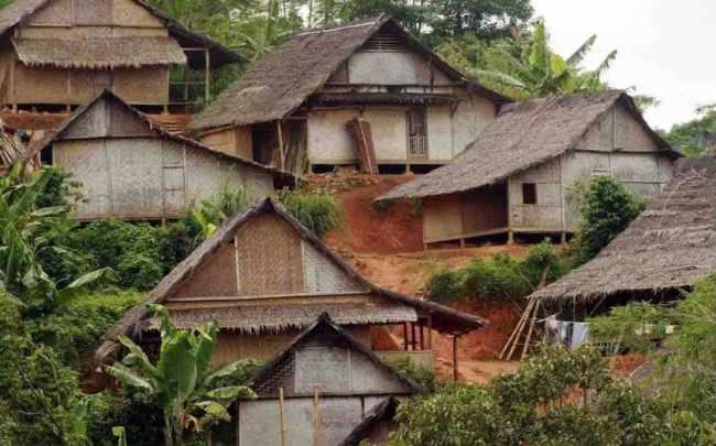 Gambar Rumah Baduy