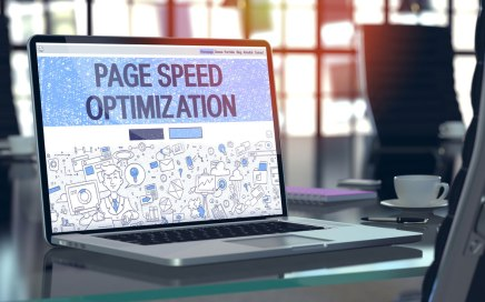 Page Speed Optimization Concept
