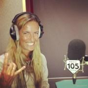 FABIOLA, LA VOCE FEMMINILE DI 105 NIGHT EXPRESS A RADIO 105 Articolo di Rosetta Savelli