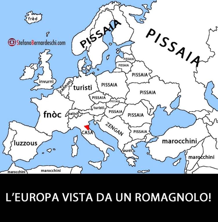 L'Europa vista da un romagnolo