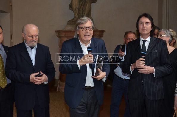 16° VERNISSAGE DI ARTE A PALAZZO EVENTO COLLATERALE AD ARTE FIERA BOLOGNA 2017 OSPITE D'ONORE VITTORIO SGARBI