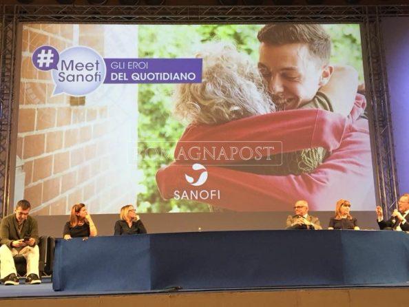 """#MeetSanofi """"Gli eroi del quotidiano"""" informazioni sulla social academy dopo l'evento."""