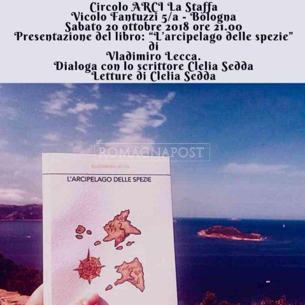 """L'arcipelago delle spezie"""" Sabato 20 ottobre 2018 alle ore 21:00 Circolo Arci La Staffa"""