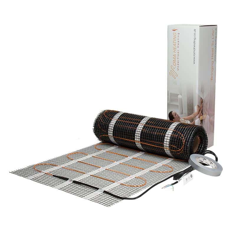 underfloor heating mats 200w