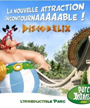 Parc Astérix Nouvelle attraction 2016 Discobélix
