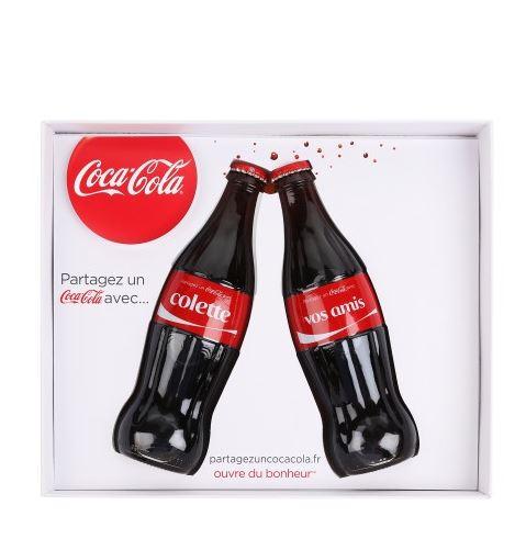 COCA COLA X COLETTE Coffret Premium 2 Bouteilles