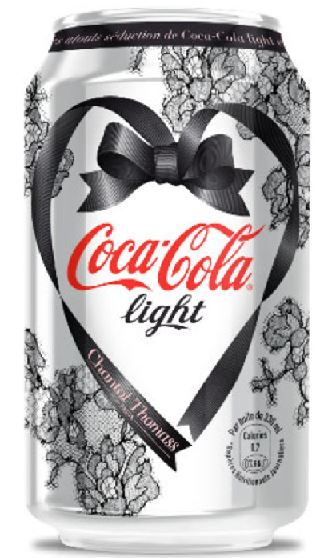 Coca-Cola Light - Chantal Thomass - Edition Limitée 2014